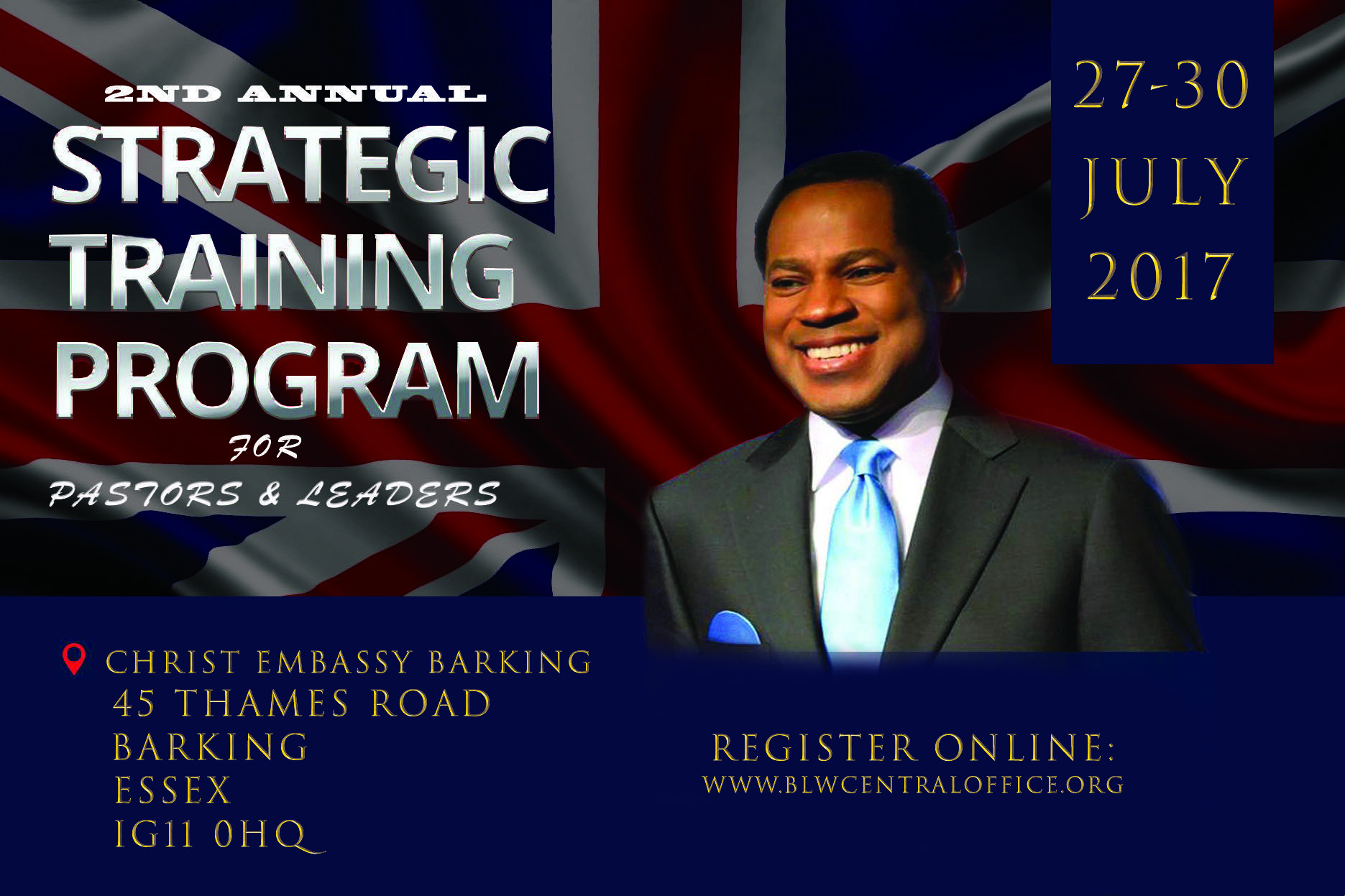 Strategic Training Program for Pastors & Leaders 2017